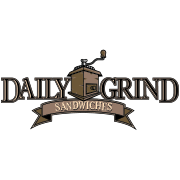 This is the restaurant logo for Daily Grind