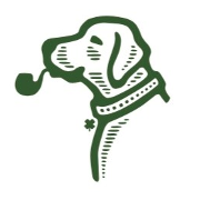 This is the restaurant logo for Paddy's Public House