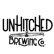 This is the restaurant logo for UnHitched Brewing