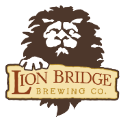 This is the restaurant logo for Lion Bridge Brewing Company