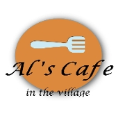This is the restaurant logo for Al's Cafe in the Village
