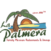 This is the restaurant logo for La Palmera