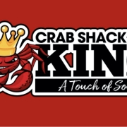 This is the restaurant logo for Crab Shack King A Touch Of Soul