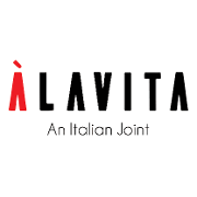 This is the restaurant logo for ALAVITA - An Italian Joint