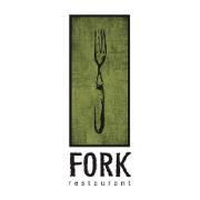This is the restaurant logo for Fork Restaurant