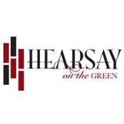 This is the restaurant logo for Hearsay On The Green