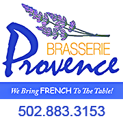This is the restaurant logo for Brasserie Provence