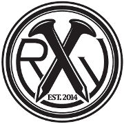 This is the restaurant logo for The RailYard