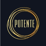 This is the restaurant logo for Potente