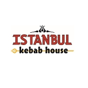 This is the restaurant logo for Istanbul Kebab House