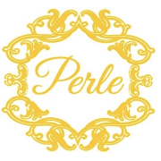 This is the restaurant logo for Perle Wine Bar