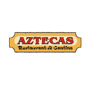 This is the restaurant logo for Aztecas Restaurant & Cantina