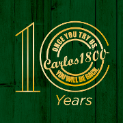 This is the restaurant logo for Carlos1800 Mexican Grill & Cantina