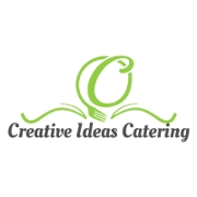 This is the restaurant logo for Creative Ideas Catering