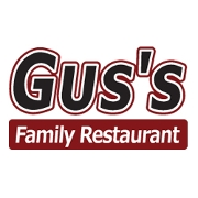 This is the restaurant logo for Gus's Family Restaurant