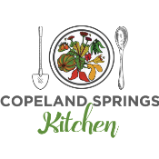 This is the restaurant logo for Copeland Springs Farm & Kitchen