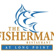 This is the restaurant logo for The Fisherman at Long Point