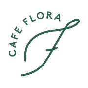 This is the restaurant logo for Cafe Flora