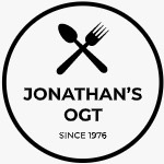 This is the restaurant logo for Jonathan's Ogunquit
