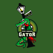 This is the restaurant logo for Green Gator