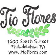 This is the restaurant logo for Tio Flores