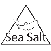 This is the restaurant logo for Sea Salt