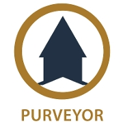 This is the restaurant logo for Purveyor