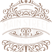 This is the restaurant logo for Main Street Pub