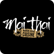 This is the restaurant logo for Mai Thai Restaurant & Bar