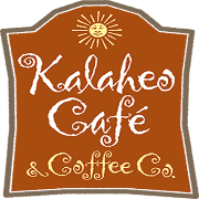 This is the restaurant logo for Kalaheo Cafe & Coffee Co.
