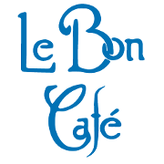 This is the restaurant logo for Le Bon Cafe