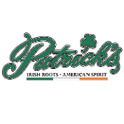 This is the restaurant logo for Patrick's Pub & Eatery