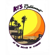 This is the restaurant logo for Ki's Restaurant