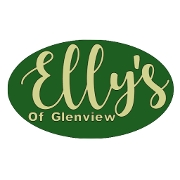 This is the restaurant logo for Elly's Pancake House of Glenview
