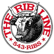 This is the restaurant logo for Rib Line by the Beach