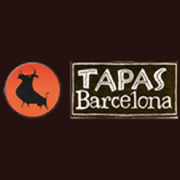 This is the restaurant logo for Tapas Barcelona