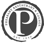 This is the restaurant logo for Pheasant Restaurant & Lounge