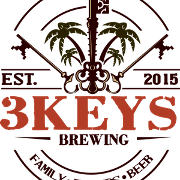 This is the restaurant logo for 3 Keys Brewing