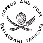 This is the restaurant logo for Harbor and Hops