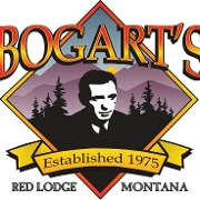 This is the restaurant logo for Bogart's