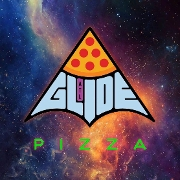 This is the restaurant logo for Glide Pizza