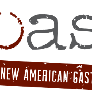 This is the restaurant logo for Toast New American Gastropub - Midlothian