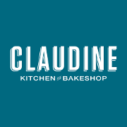 This is the restaurant logo for Claudine Artisan Kitchen & Bakeshop