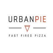 This is the restaurant logo for Urban Pie