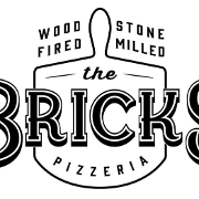 This is the restaurant logo for The Bricks Pizzeria