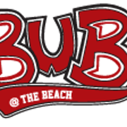 This is the restaurant logo for Bub's at the Beach