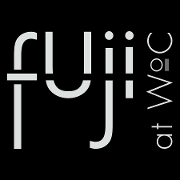 This is the restaurant logo for Fuji at WoC