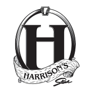 This is the restaurant logo for Harrisons Restaurant