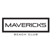 This is the restaurant logo for Mavericks Beach Club