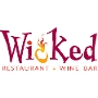 Restaurant logo for Wicked Restaurant and Wine Bar